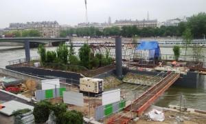Les jardins flottants de l'Archipel (Paris 7e) image Marie DEUTSCHE mai 2013